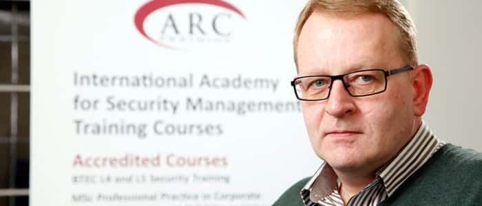 Gavin of ARC Training at Howbery Business Park