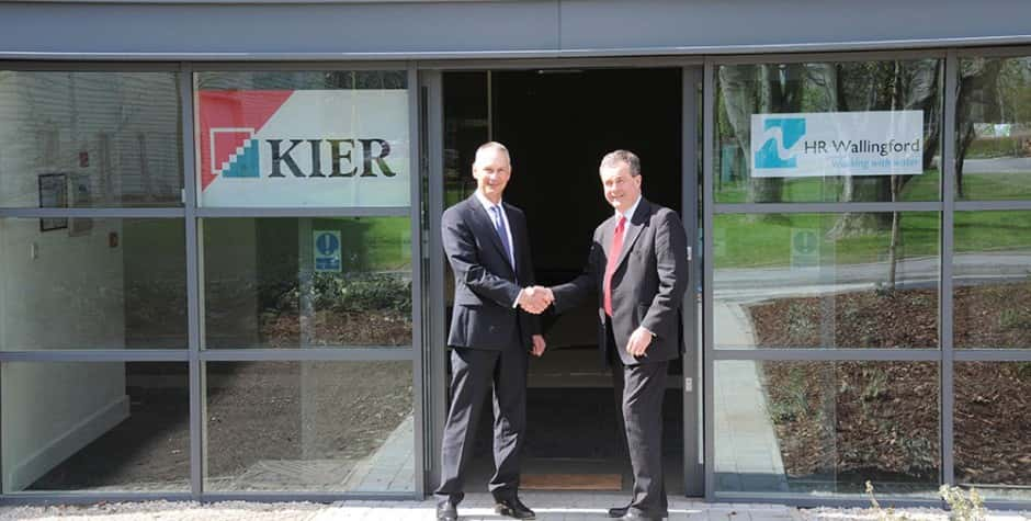 John Ormston, Howbery Business Park and Glyn Salmon, Kier