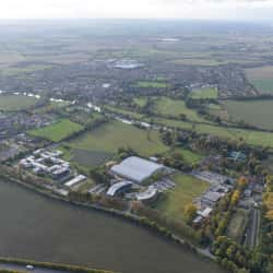 Aerial Shot of Howbery Business Park