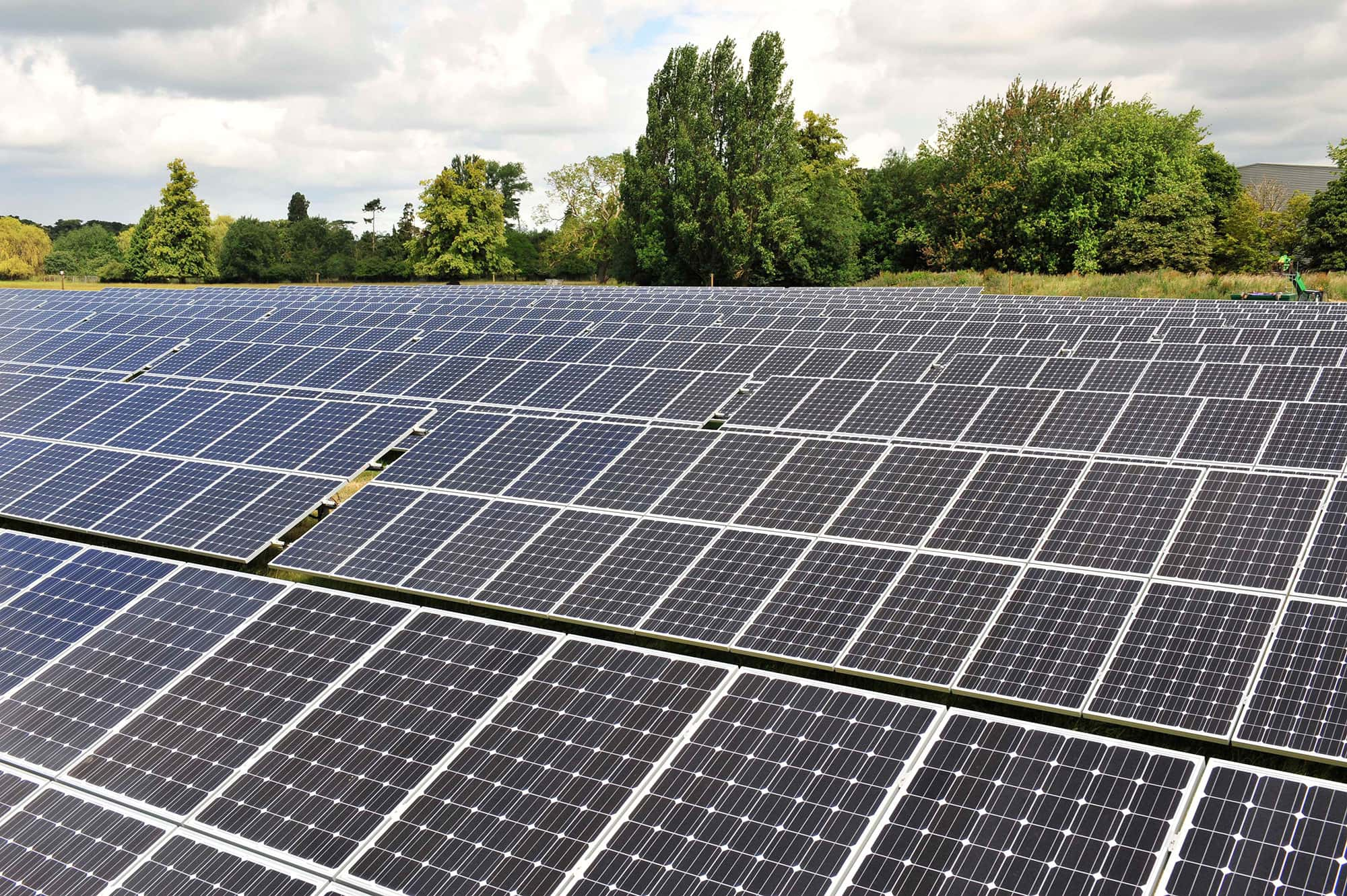 Solar Park Howbery Business Park Oxford Oxfordshire