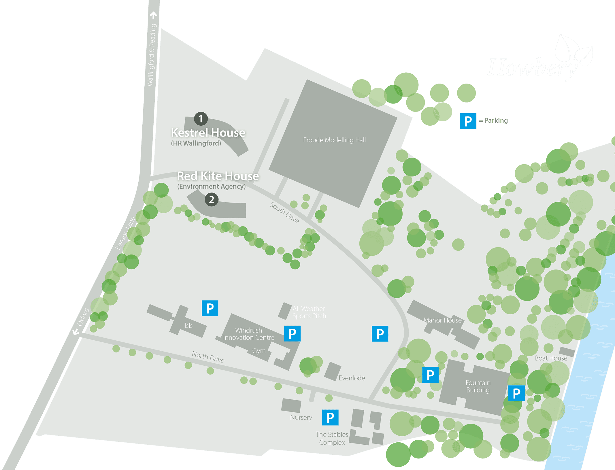 howbery-parking-plan
